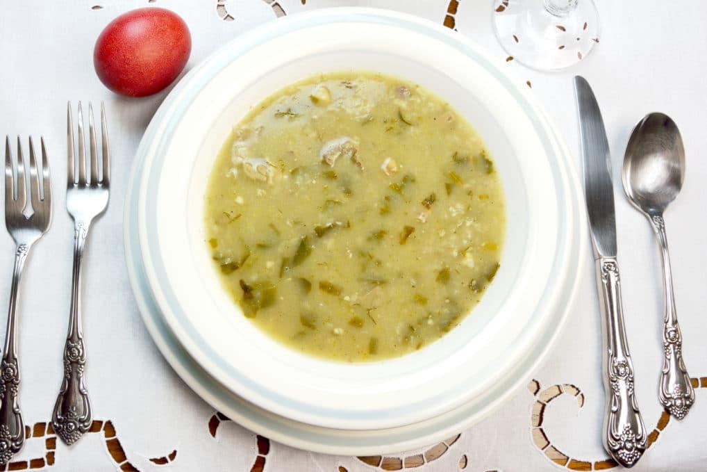 Magiritsa - soupe de Pâques