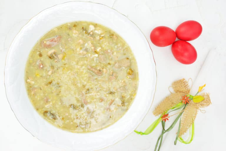Magiritsa, vegan greek Easter soup