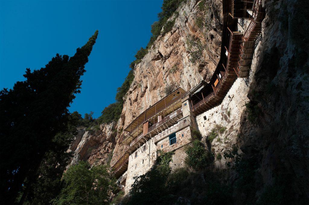 Monastère en Arcadie dans le Péloponnèse