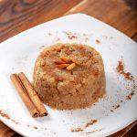 Halvas au semoule et à la cannelle, dessert grec traditionnel recette