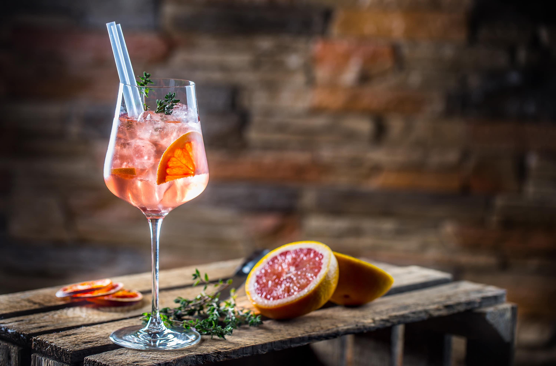 Cocktail Grapefruit Spritz