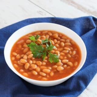 Soupe aux haricots blancs recette