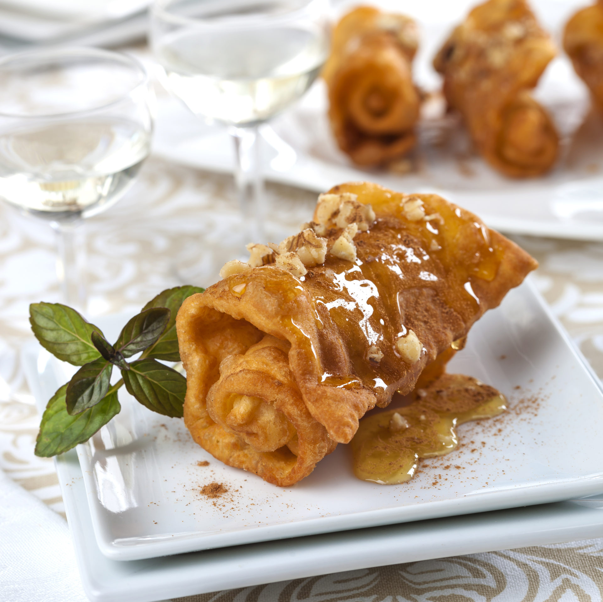 Traditional greek Christmas and New Year desserts