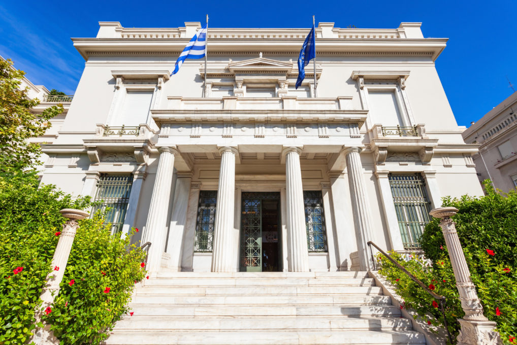 Le musée Benaki à Athènes, le bâtiment principal