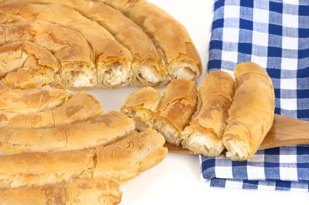 La strifti pita kichi au fromage, une pita traditionnelle de Kozani