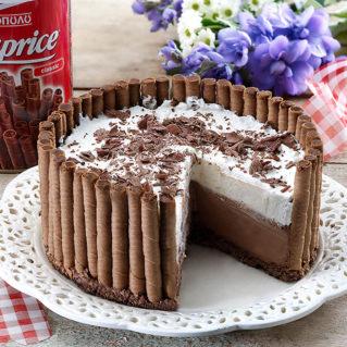 Gâteau dans un nid de Caprice