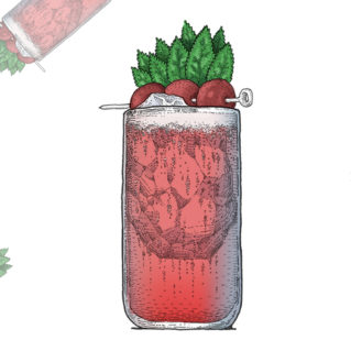 Cherry Tai, une autre version de Mai Tai au Cherry Soda de Three Cents