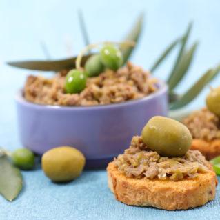 Tapenade aux olives vertes de Chalcidique