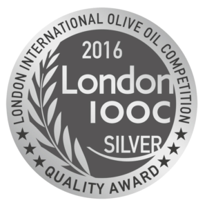 Médaille d'Argent London International Olive Oil Competition 2016