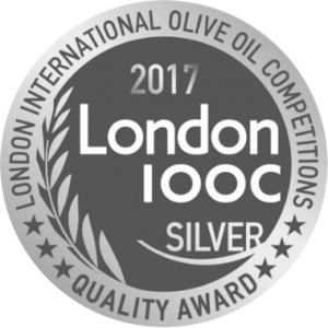 Médaille d'Argent London International Olive Oil Competition 2017