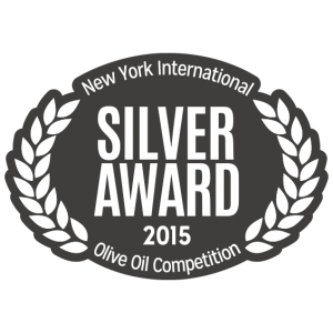 Silver Award New York International Olive Oil Competition 2015